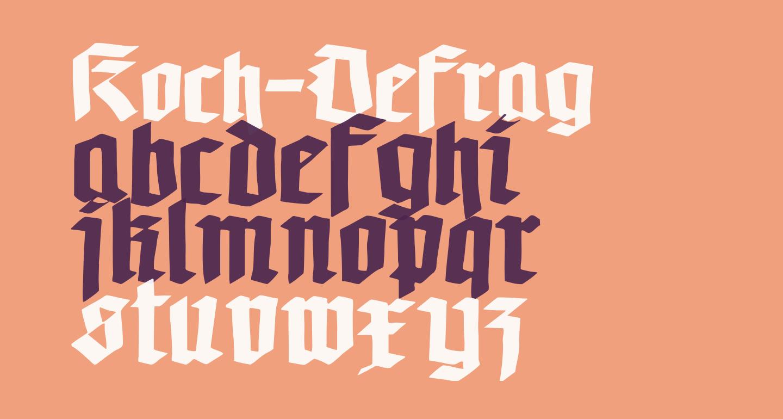 Koch-Defrag