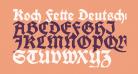 Koch Fette Deutsche Schrift UNZ1A