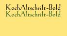 KochAltschrift-Bold