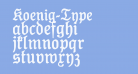 Koenig-Type