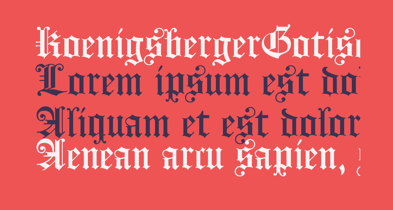 KoenigsbergerGotisch