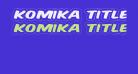 Komika Title - Wired