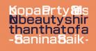 Koopa Party 8 Message Font Regular