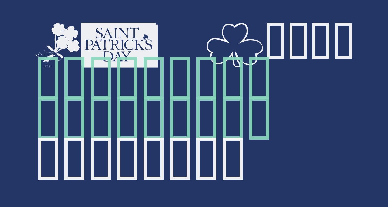 KR Belated St Patricks