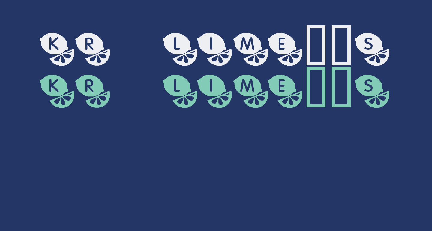 KR Lime's Limes!