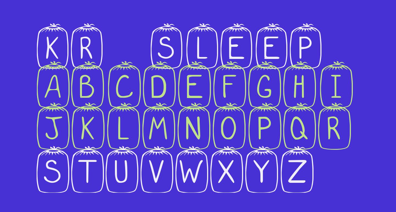 KR Sleep Over