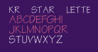 KR Star Letters