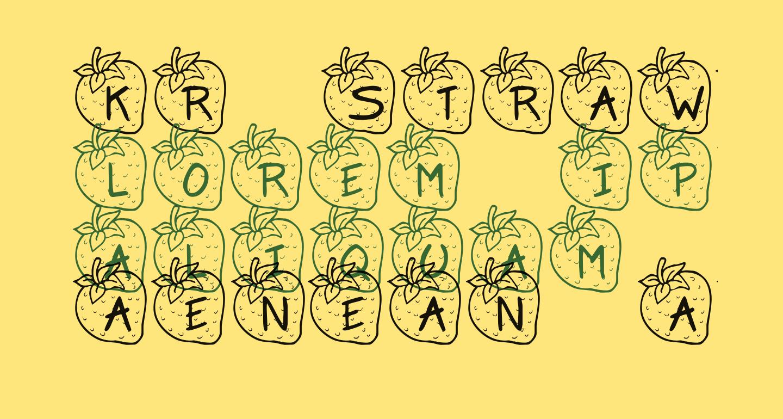 KR Strawberry