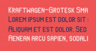 Kraftwagen-Grotesk SmallCaps NBP