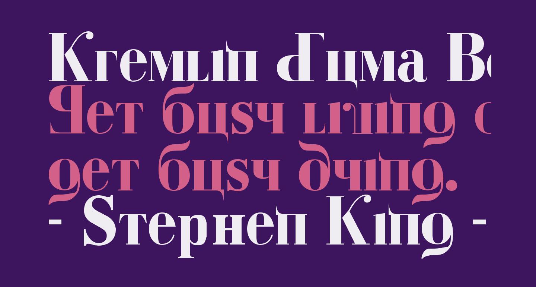 Kremlin Duma Bold