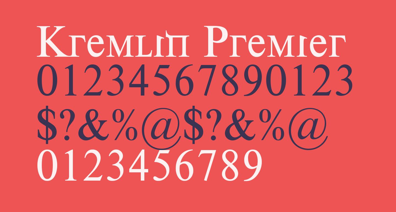 Kremlin Premier