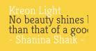 Kreon Light