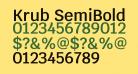 Krub SemiBold
