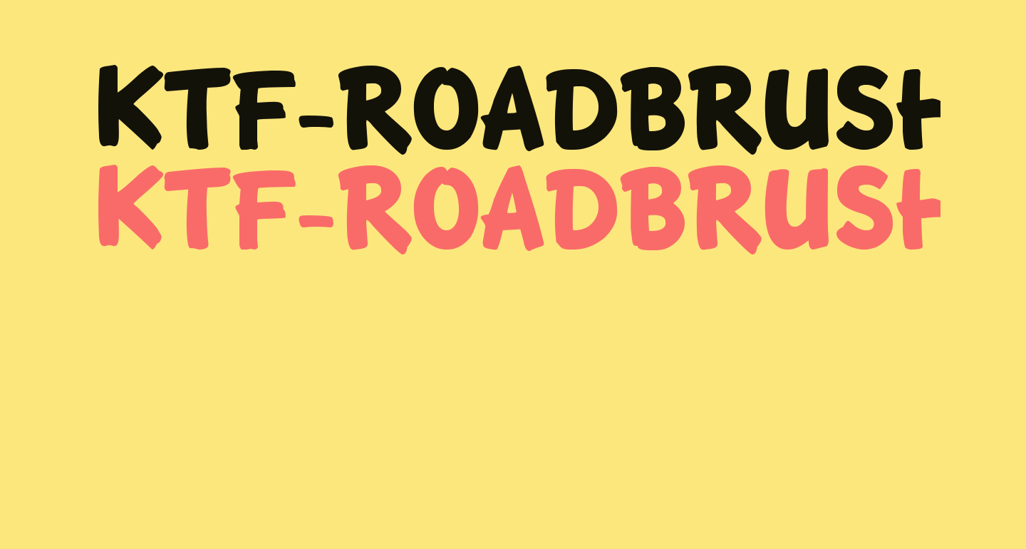 KTF-Roadbrush