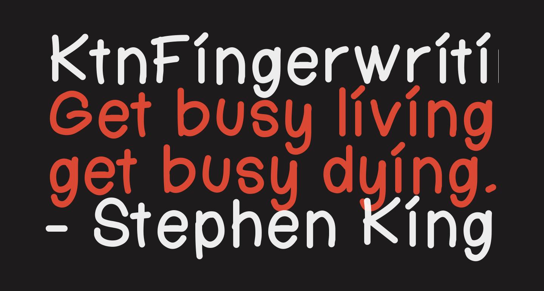 KtnFingerwriting