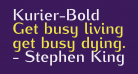 Kurier-Bold