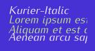 Kurier-Italic