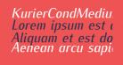 KurierCondMedium-Italic