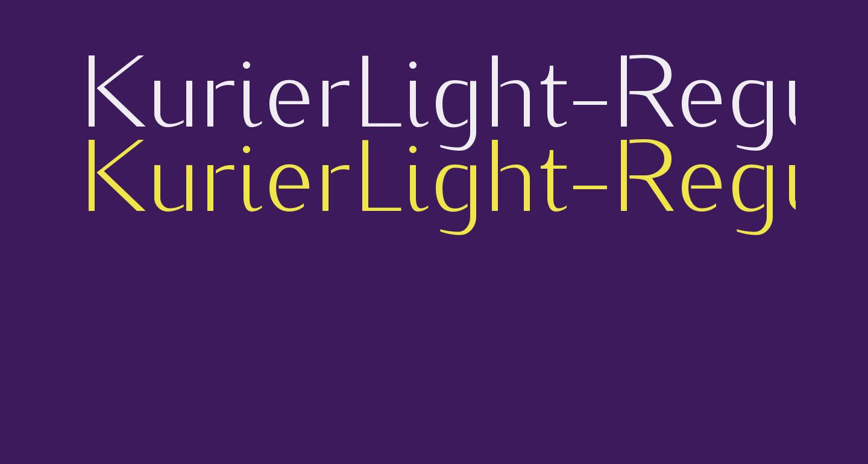 KurierLight-Regular