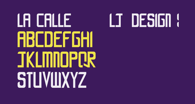 LA CALLE 6 - LJ-Design Studios Smooth