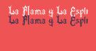 La Flama y La Espina2 Bold
