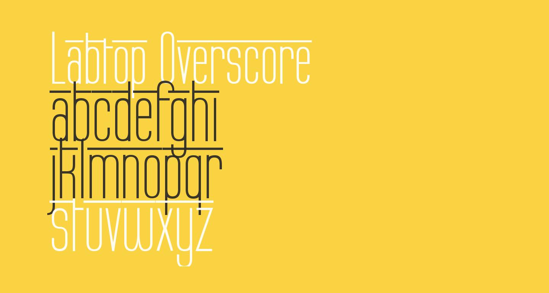 Labtop Overscore