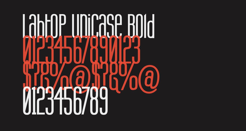 Labtop Unicase Bold