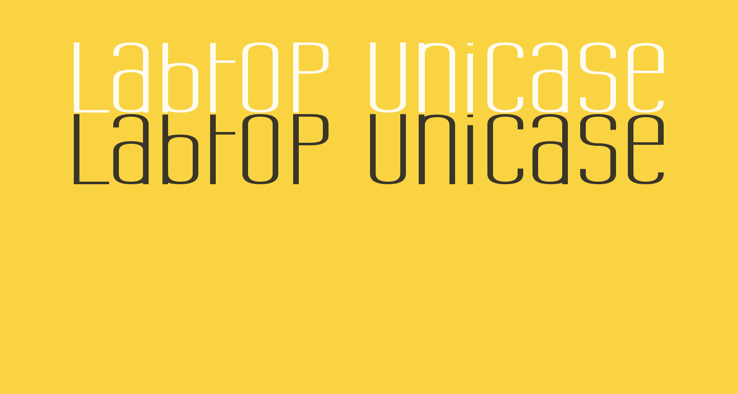 Labtop Unicase Superwide