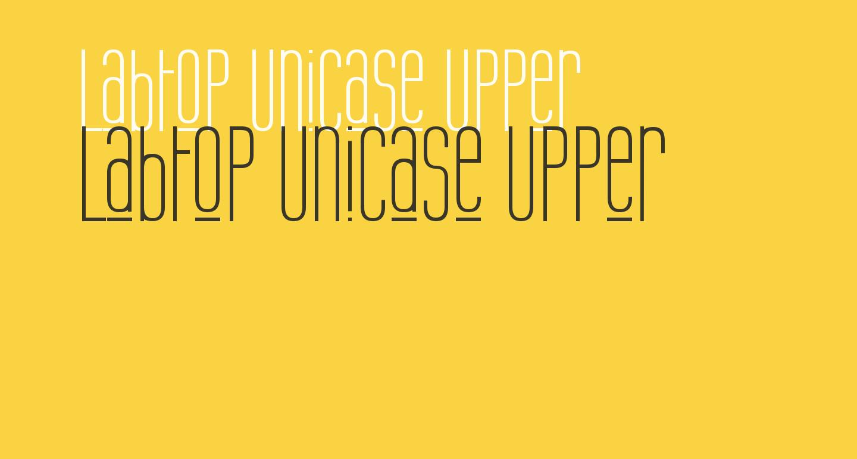 Labtop Unicase Upper