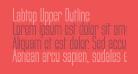 Labtop Upper Outline