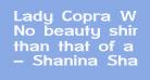 Lady Copra Wide