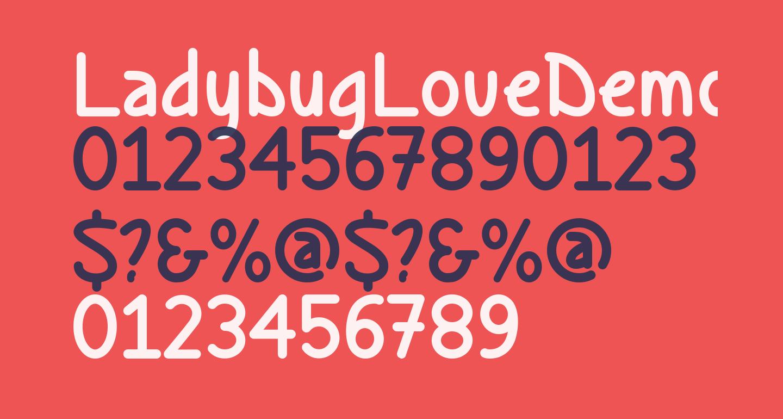 LadybugLoveDemo-Regular