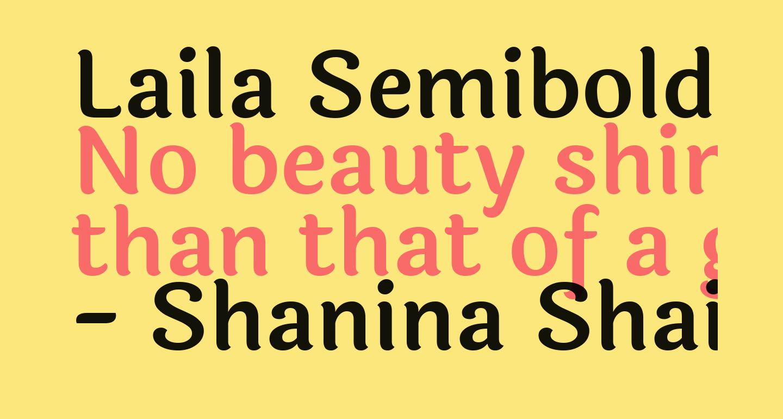 Laila Semibold