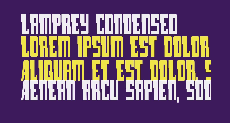 Lamprey Condensed