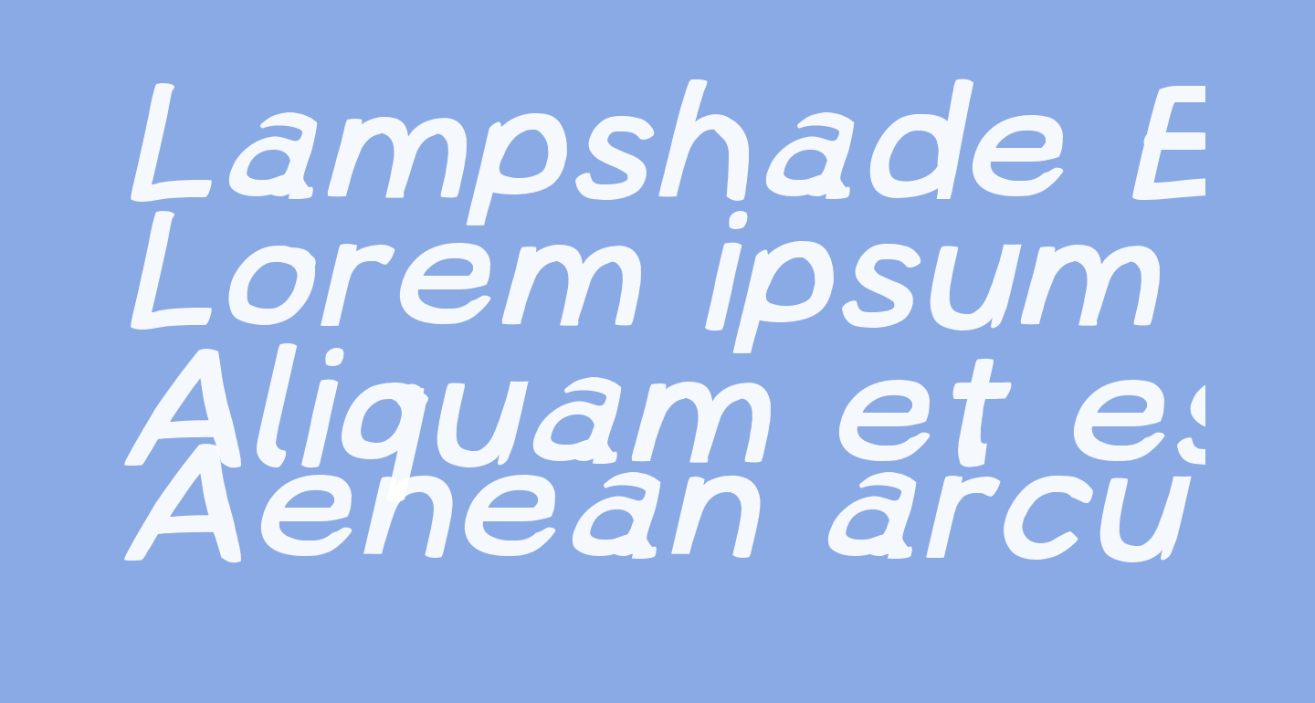 Lampshade Extended Oblique