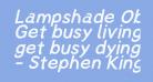 Lampshade Oblique