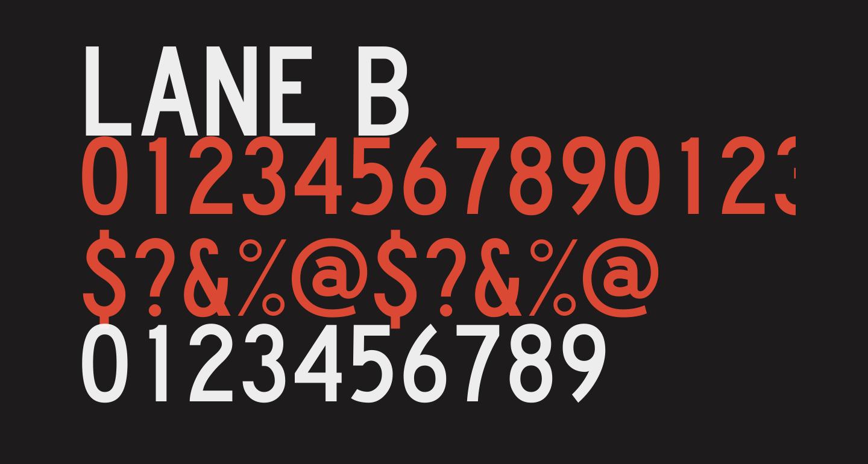 Lane B