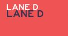 Lane D