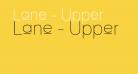 Lane - Upper