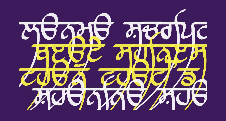 Lanma Script Medium