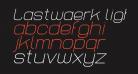 Lastwaerk light Oblique