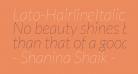 Lato-HairlineItalic