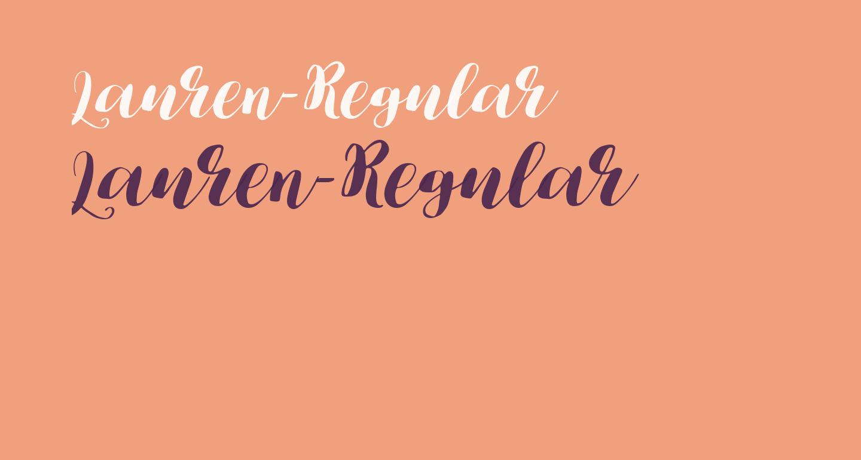 Lauren-Regular