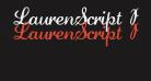 LaurenScript Regular