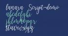 lanara Script-demo
