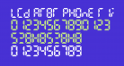 LCD AT&T Phone Time/Date