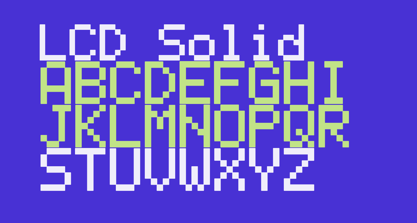 LCD Solid