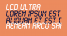 LCD Ultra