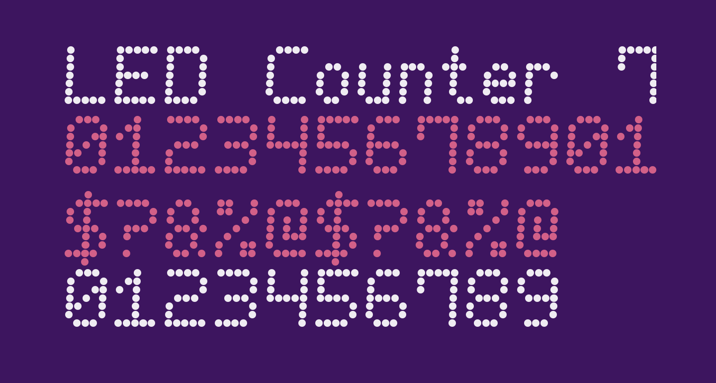 LED Counter 7