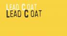 Lead Coat